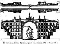 108. Мост на р. Эвон у Бристоля, проект инж. Бриджа