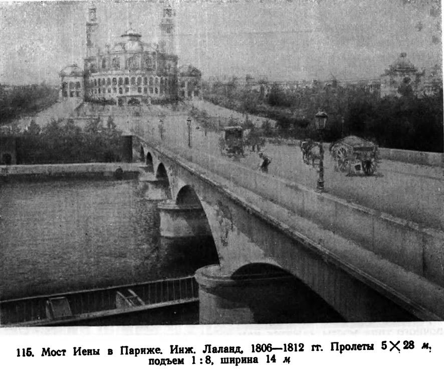 116. Мост Иены в Париже. Инж. Лаланд