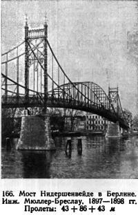 166. Мост Нидершенвейде в Берлине