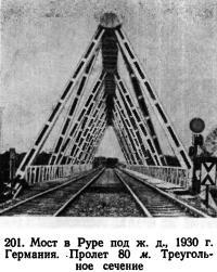 201. Мост в Руре под ж. д., 1930 г. Германия