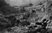 209. Примитивный деревянный мост на Кавказе