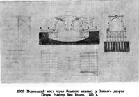 253 б. Подъемный мост через Зимнюю канавку у Зимнего дворца Петра