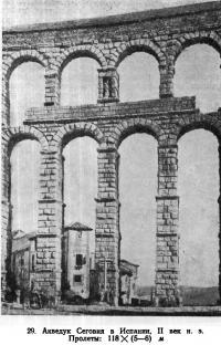 29. Акведук Сеговия в Испании, II век н.э.