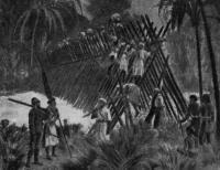 3. Мост через р. Ловди в Африке. 1876 г.