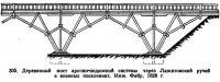305. Деревянный мост арочно-подкосной системы через Лажитовский ручей