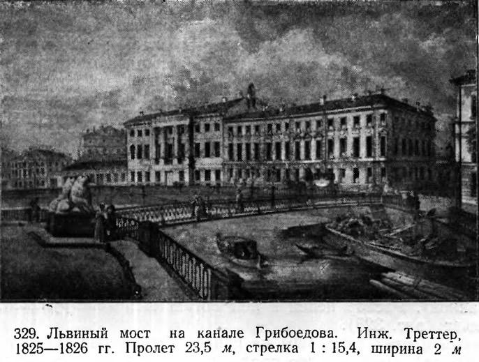 329. Львиный мост на канале Грибоедова
