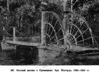 351. Висячий мостик в Кузьминках