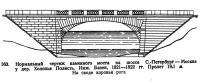 363. Нормальный чертеж каменного моста на шоссе С-Петербург—Москва