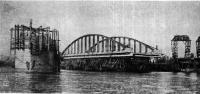 398. Мост имени Володарского. Перевозка ферм моста
