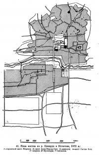 41. План мостов на р. Цендруд в Испагани, XVII в.