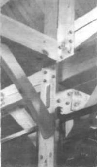 4.13. Открытое крепление деревянных конструкций