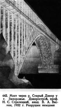 442. Мост через р. Старый Днепр у г. Запорожье