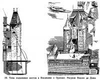 50. Типы подъемных мостов в Вилленеве и Орлеане