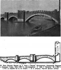 55. Мост Кастель Веккио на р. Адде в Вероне