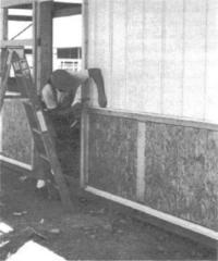8.10. Ориентированные волокнистые плиты используются для покрытия стальной обшивки