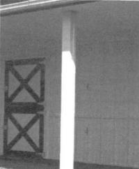 8.13. Отделка деревянного столба листовой сталью