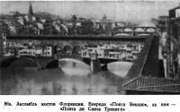 86а. Ансамбль мостов Флоренции