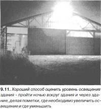9.11. Хороший способ оценить уровень освещения здания