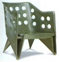 Алюминиевый стул. Геррит Ритвельд