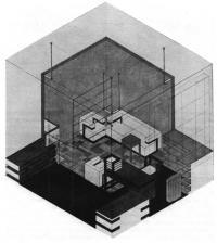 Баухауз. Интерьер. В. Гропиус, 1923