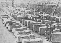 Блоки обделки тоннелей первой очереди Московского метрополитена