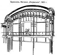 Брюссель. Магазин Иновасьон, 1901 г.