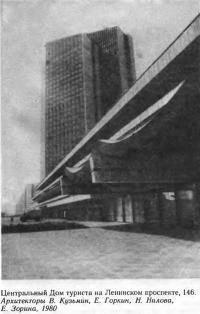 Центральный Дом туриста на Ленинском проспекте, 146