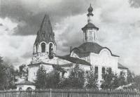 Церковь Леонтьевская. Общий вид с реки