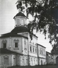 Церковь Сергия Радонежского в селе Дымково. Вид с северо-восточной стороны
