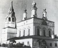 Церковь Спасо-Преображенская. Вид с юго-западной стороны