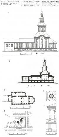 Церковь Сретенско-Преображенская (построена в 1725—1739 гг.)