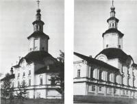 Церковь Сретенско-Преображенская. Вид с юго-восточной стороны и с югозападной стороны