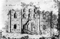 Церковь XI в. на рисунке А. Вестерфельда 1651 г