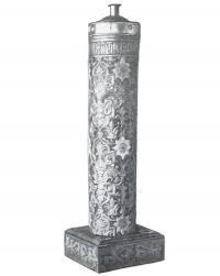 Деревянный резной подсвечник начала XVII в., так называемая «Тощая свеча»
