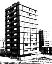 Десятиэтажное здание