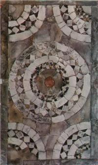 Десятинная церковь. Фрагмент мозаичного пола