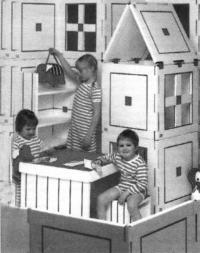 Детская игровая мебель подразумевает активное участие самих детей
