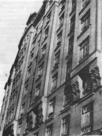 «Дом дешевых квартир» в Большом Гнездниковском переулке. Архитектор Э. Нирнзее, 1912