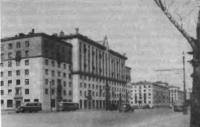 Дом на Ленинском проспекте, 22. Архитектор Г. Гольц, 1939—1941