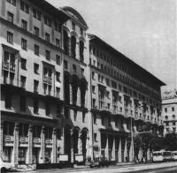 Дом на улице Горького, 25. Архитектор А. Биров, 1933—1936 и 1949