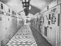Электроподстанция на одной из линий метрополитена