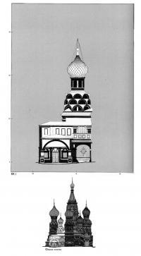 Фасад-схема северо-восточного малого придела