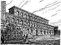 Флоренция. Палаццо Питти. Архит. Ф. Брунеллески. Середина XV в.