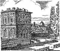 Флоренция. Палаццо Питти. В Садах Боболи