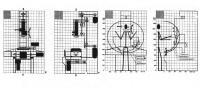 Функциональные зоны промышленного станка и антропометрический анализ. ВНИИТЭ, 1980-е