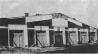 Гараж на улице Образцова, 19. Архитектор К. Мельников, 1926—1927