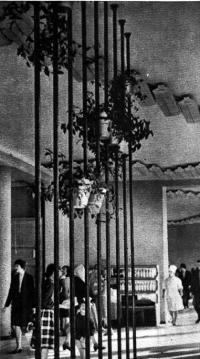 Гастроном «Столичный», интерьер. 1964 год