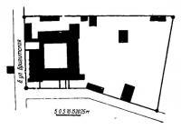 Генеральный план Бригитского костела