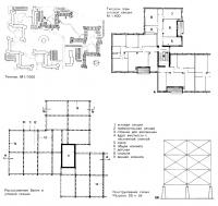 Генплан и типовой этаж здания