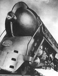Генри Дрейфус для Нью-Йоркской центральной ж/д., 1941